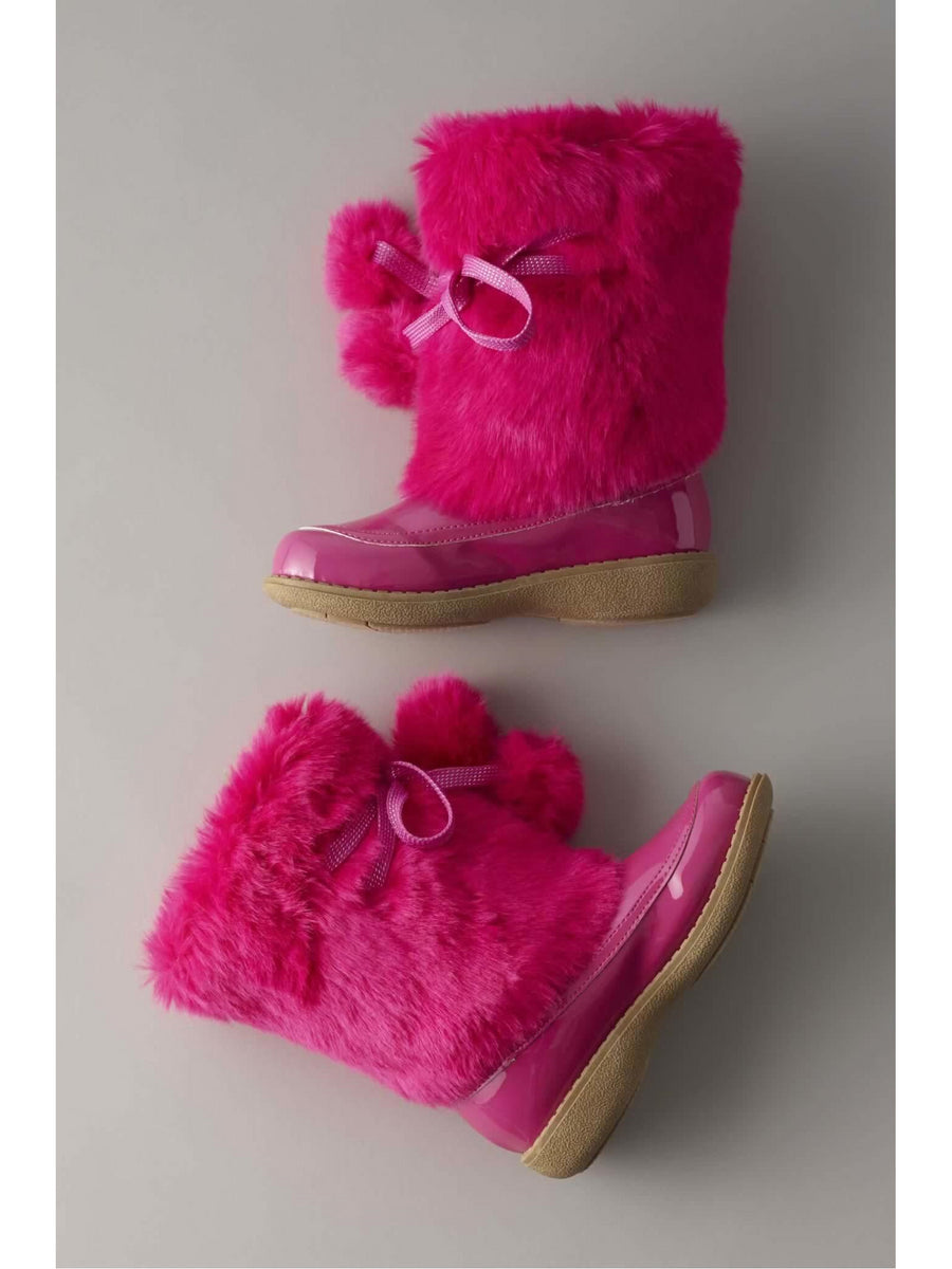 Girls Furry Winter Boots