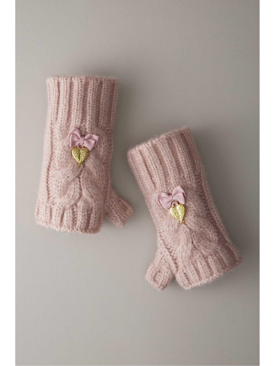 Girls Fuzzy Gloves