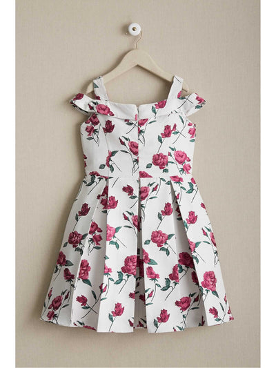 Girls Garden Party Dress  mag alt1