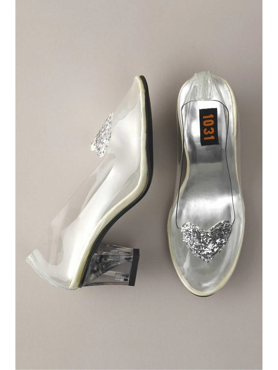 Girls Glass Slippers