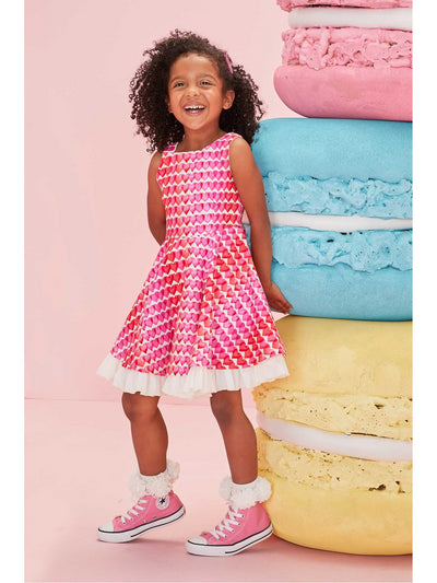 Girls Hearts on Fire Dress  hpi alt1
