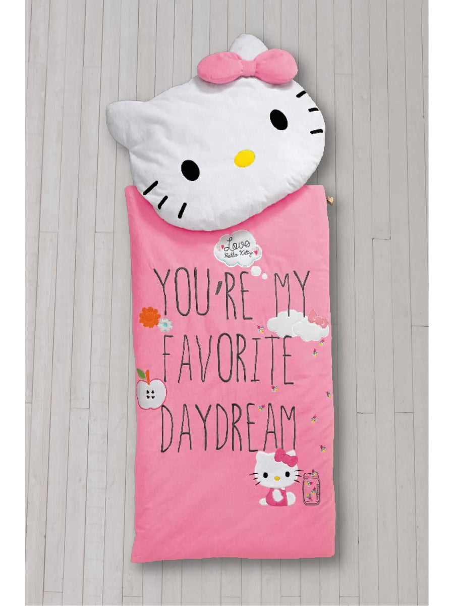 Girls Hello Kitty® Sleeping Bag & Pillow Set