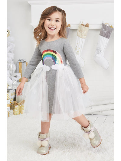 Girls Her Own Rainbow Dress