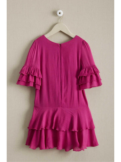 Girls Here a Ruffle There a Ruffle Dress  ber alt2