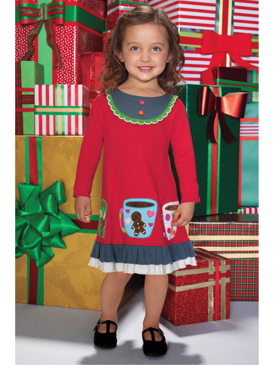 Girls Hot Cocoa Dress