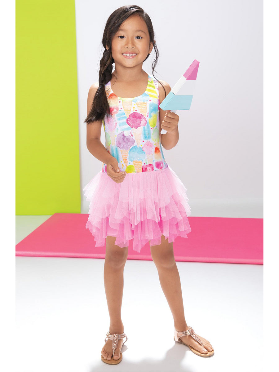 Girls Ice Cream Social Dress