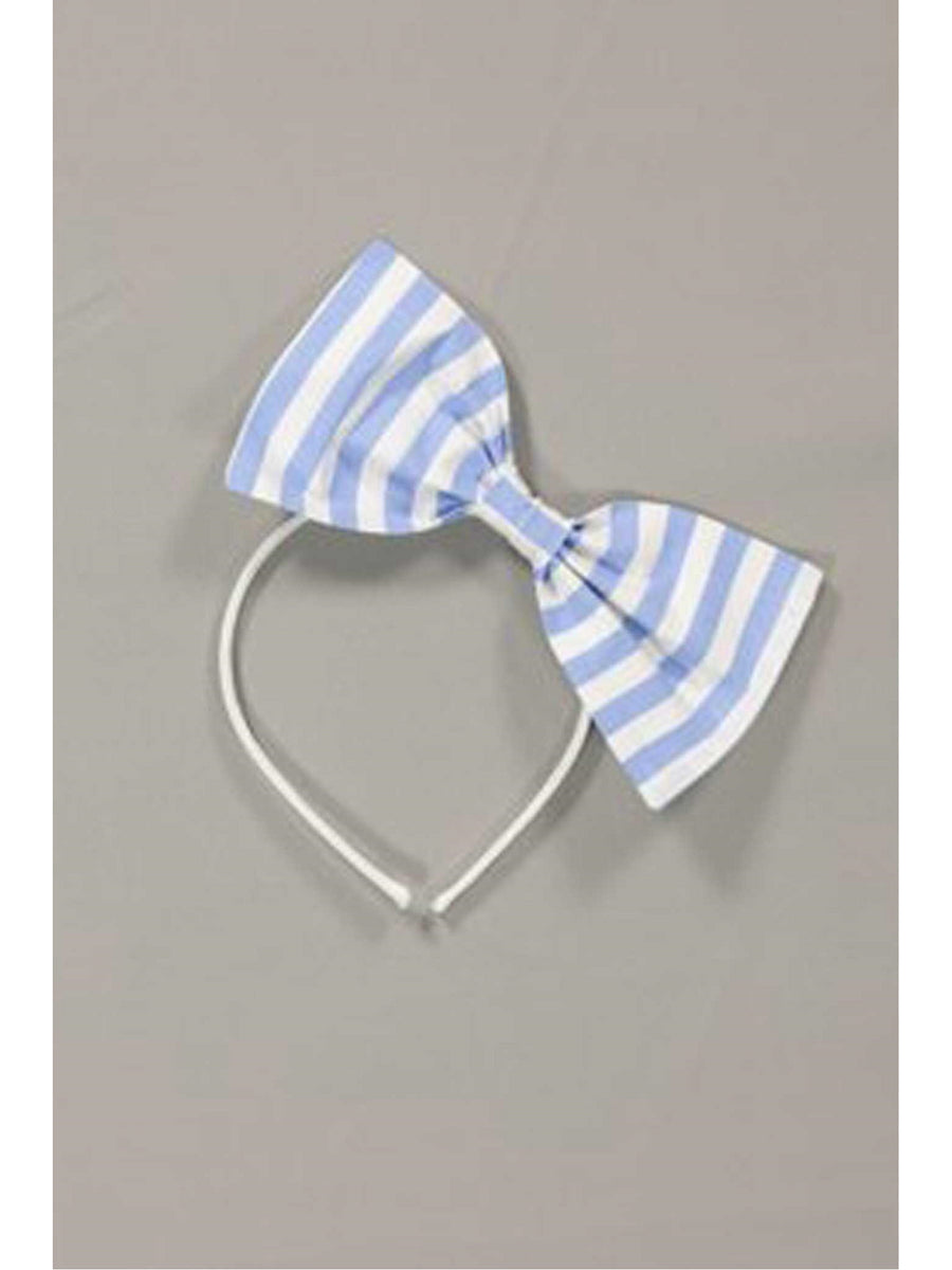 Girls Isabel Garreton® Big Bow Stripe Headband