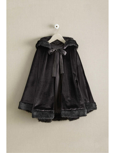 Girls Isabel Garreton Fairy-Tale Velvet Cape