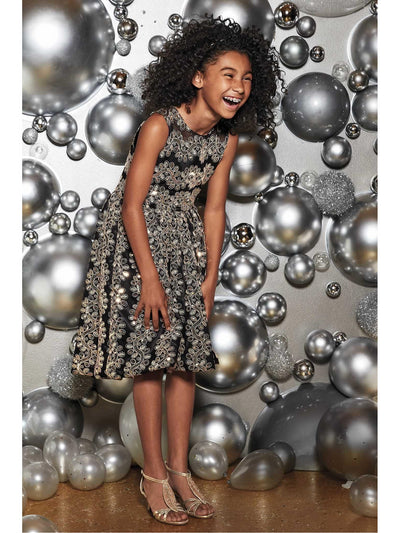 Girls Jewelbox Dress  bla alt1