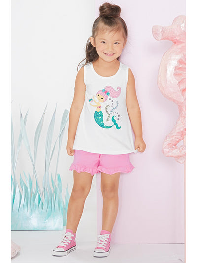 Girls Kari Mermaid Tank