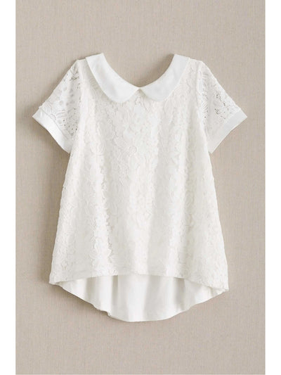 Girls Lace Swing Top