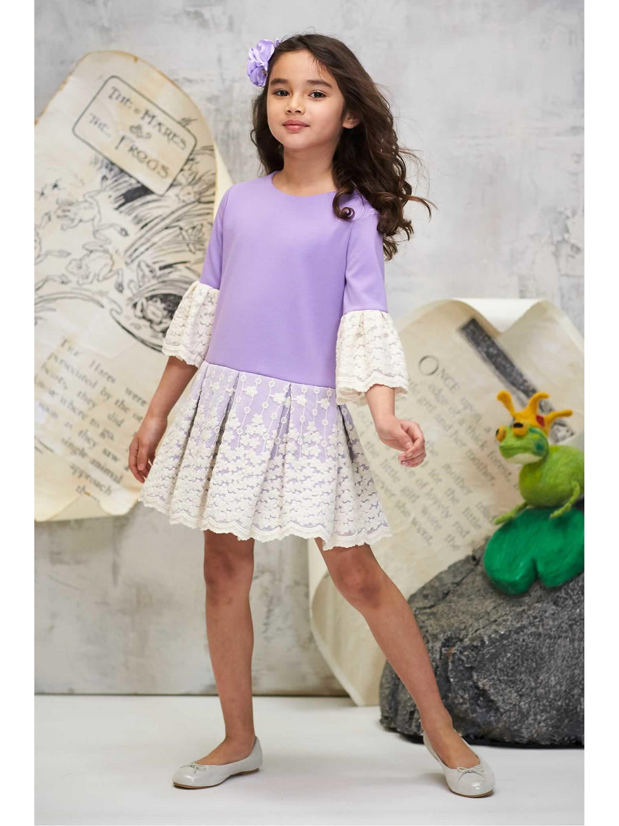 Girls Lacy Day Dress