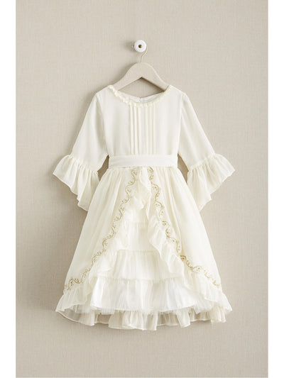 Girls Ladylike Chiffon Dress  ivo alt1