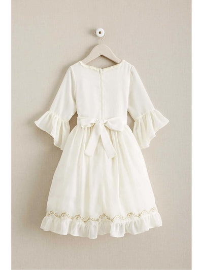 Girls Ladylike Chiffon Dress  ivo alt2