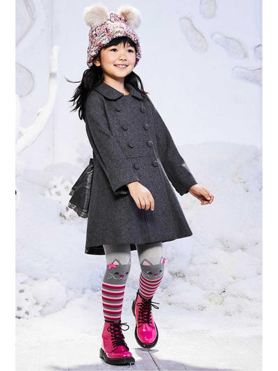 Girls London Coat  gra alt1