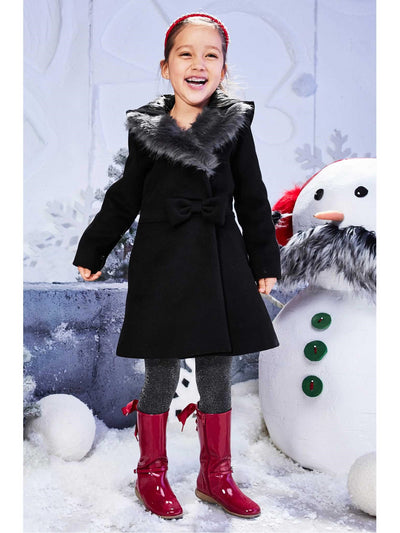 Girls Lovely Dress Coat  bla alt1