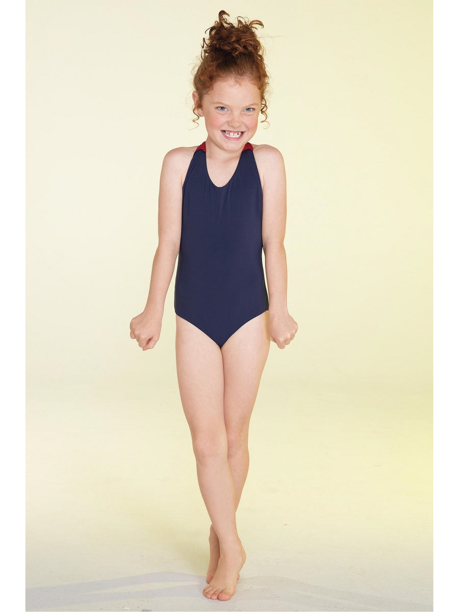 Girls Macrame Reversible Swimsuit