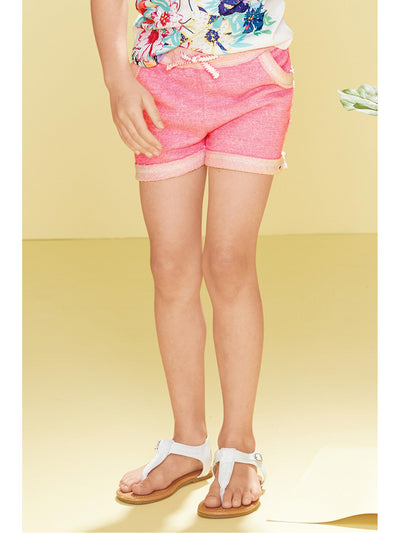 Girls Majorca Knit Shorts