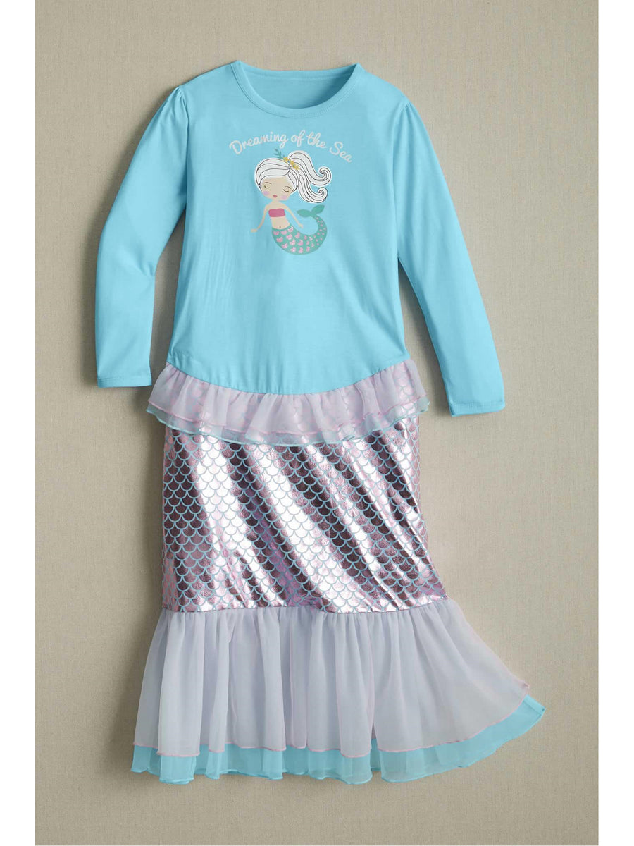 Girls Mermaid Dreams Nightgown