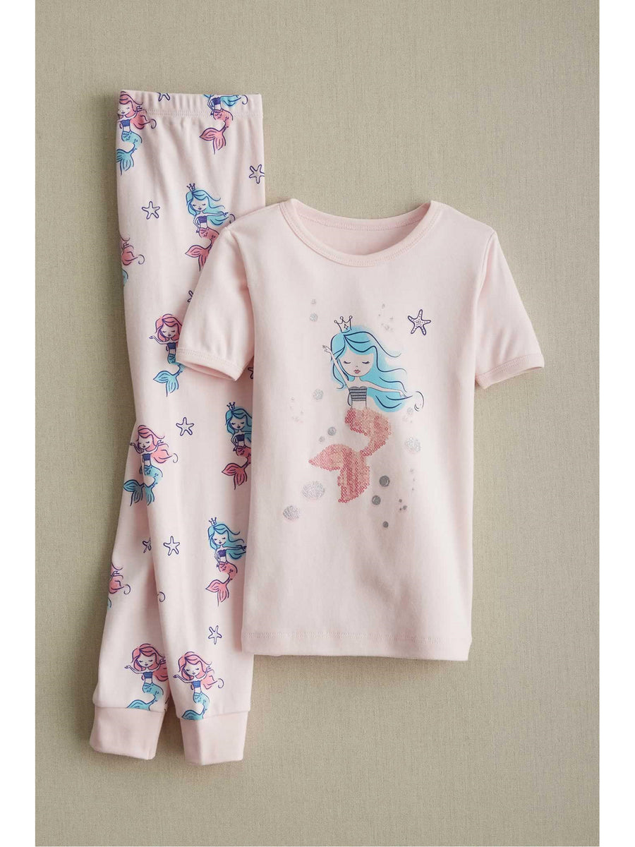 Girls Mermaid Dreams Pj's