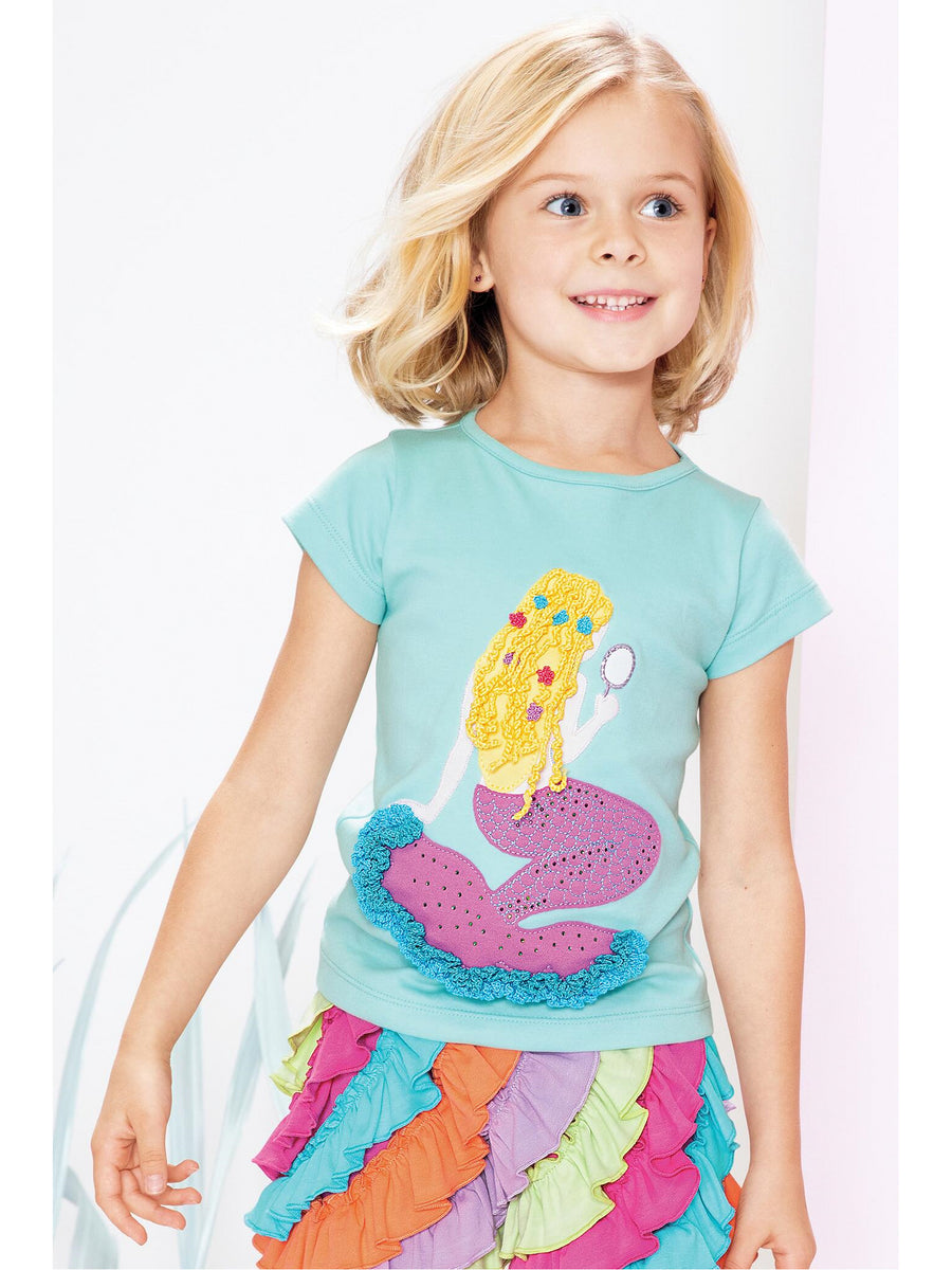 Girls Mermaid in the Mirror Tee