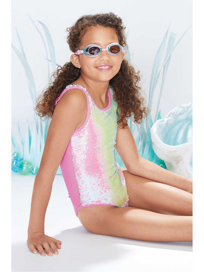 Girls Mermaid Sequin Swimsuit