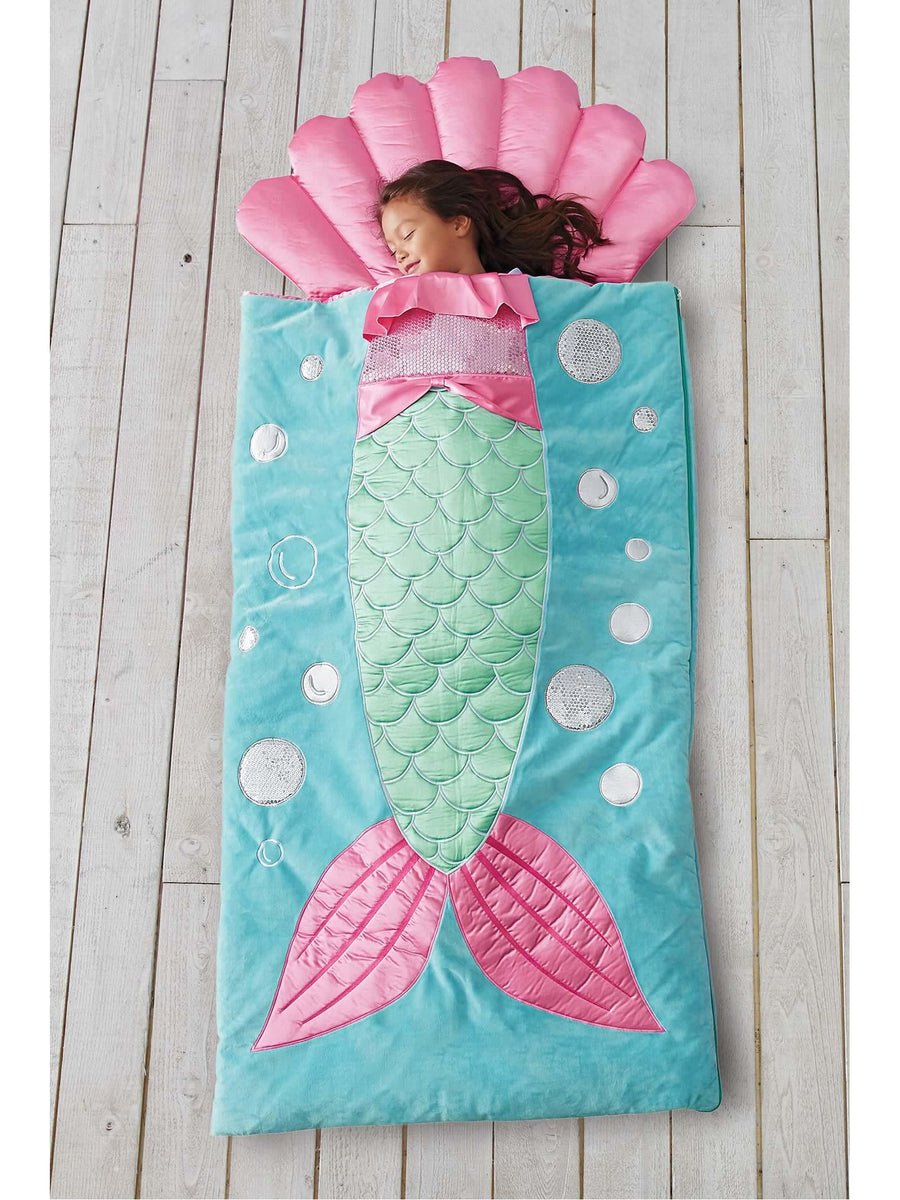Girls Mermaid Sleeping Bag