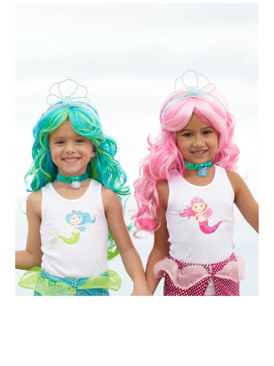 Girls Mermaid Wig