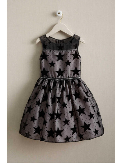 Girls Mesh Star Dress