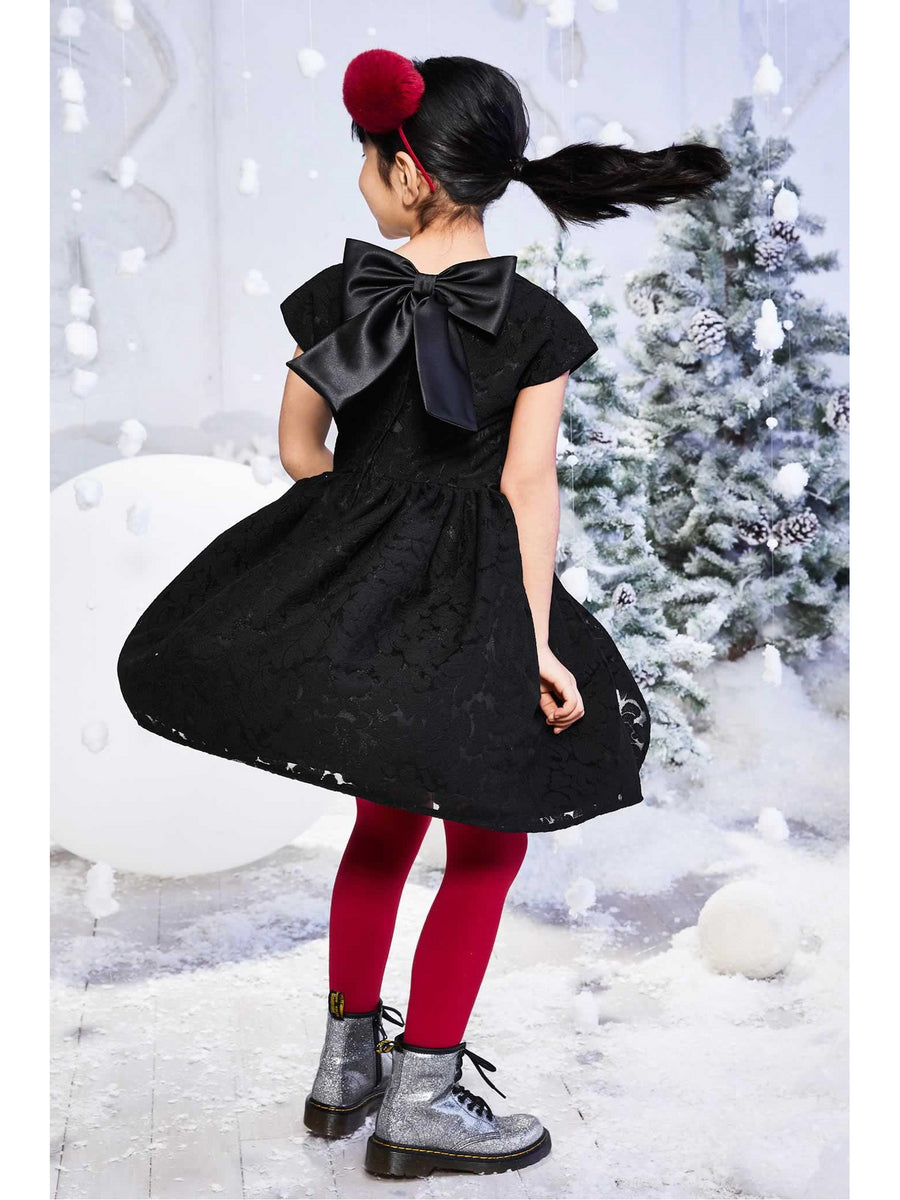Girls Milan Bow Dress