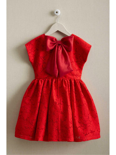Girls Milan Bow Dress  bla alt2