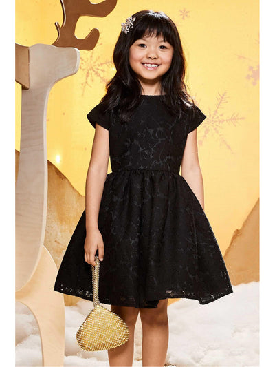 Girls Milan Bow Dress  bla alt3