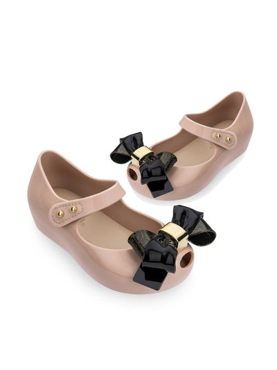 Girls Mini Melissa Peep-Toe Mary Janes