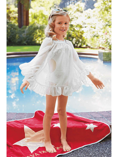 Girls Movie Star Chiffon Cover-Up  sil alt1