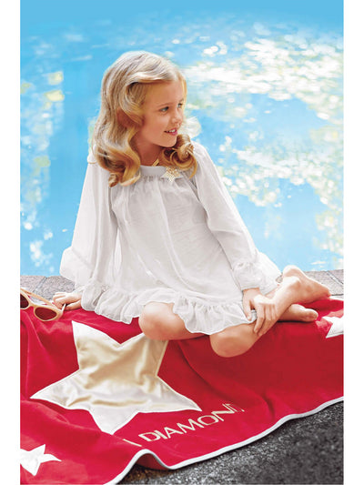 Girls Movie Star Chiffon Cover-Up  sil alt2