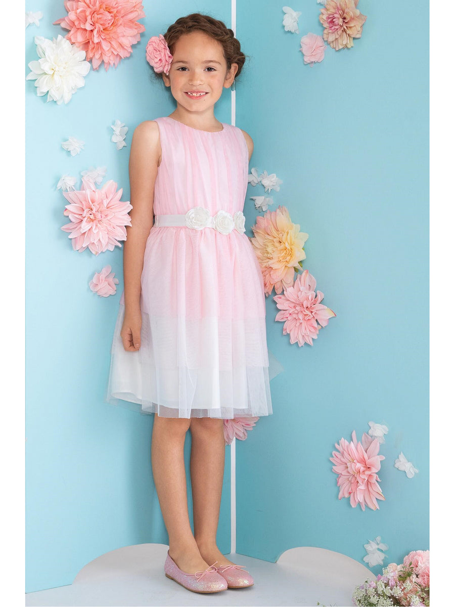Girls Nina Layered Tulle Dress