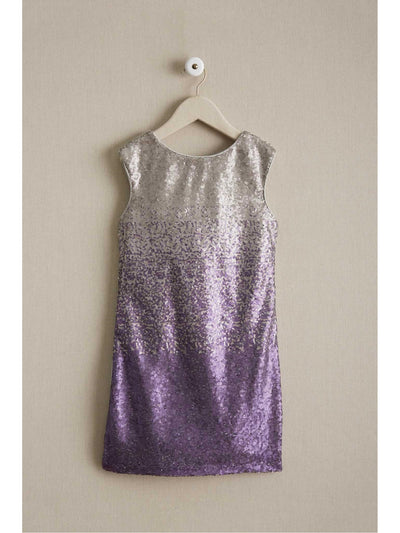 Girls Ombre Sequin Dress