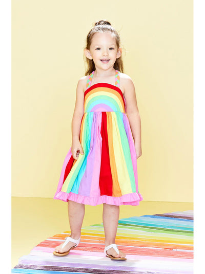 Girls Over the Rainbow Dress  rbw 1