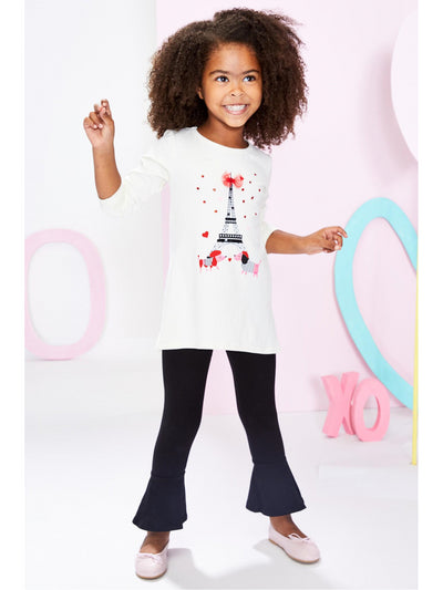 Girls Paris Puppy Love Tunic