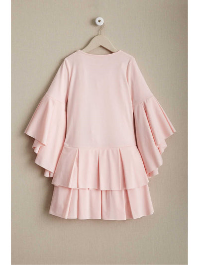 Girls Pastel Pleats Dress  lpi alt2