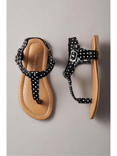 Girls Patent Leather Sandals  bwh 1