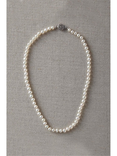 Girls Pearl Necklace  ivo alt1