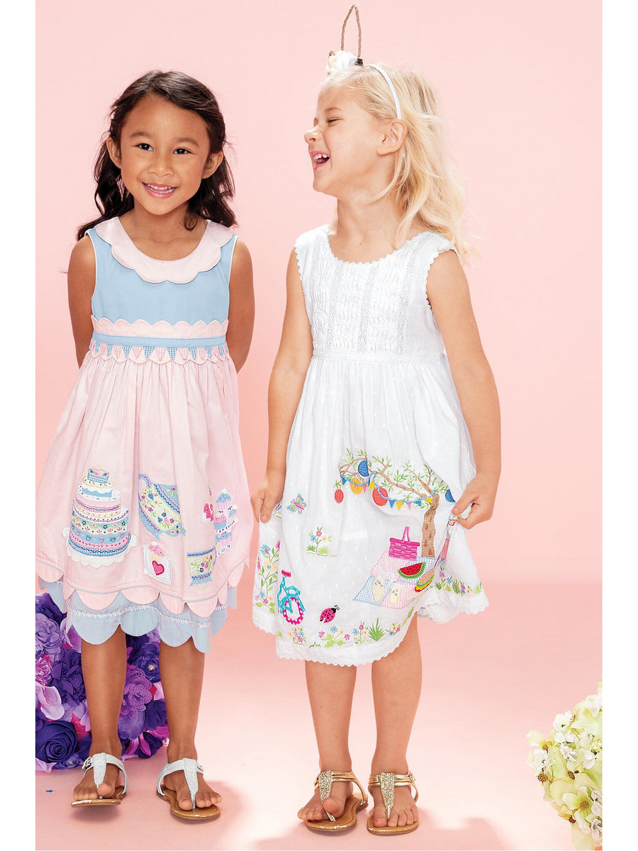 Girls Picnic in the Park Dress