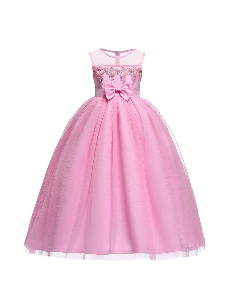 Girls Pink Cloud Dress