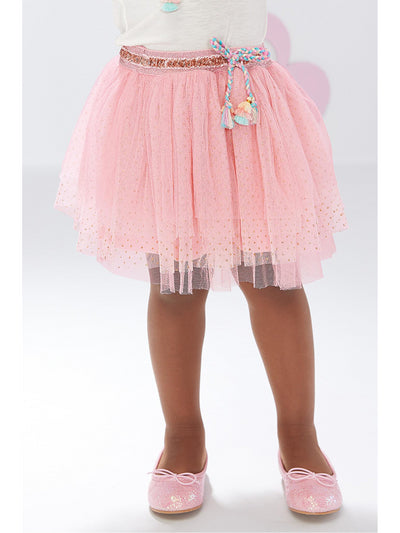 Girls Pink Parfait Tutu Skirt