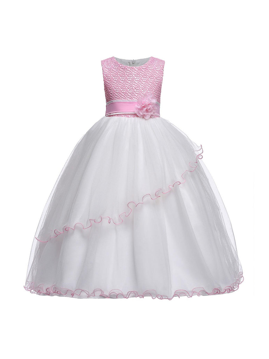 Girls Pink Princess Dress