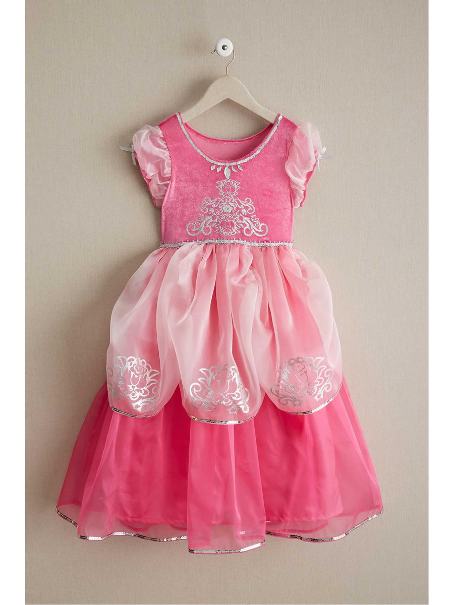 Girls Pink Princess Play Dress
