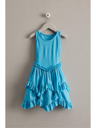 Girls Playday Dress  tea 1