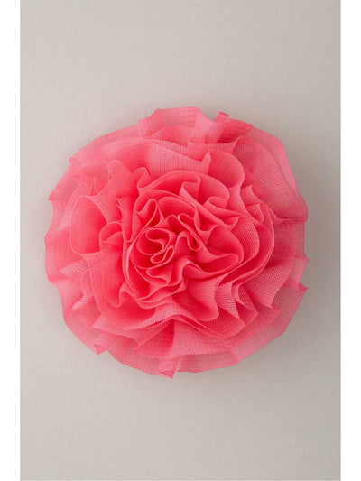Girls Pleated Chiffon Flower Hairclip  hpi 1