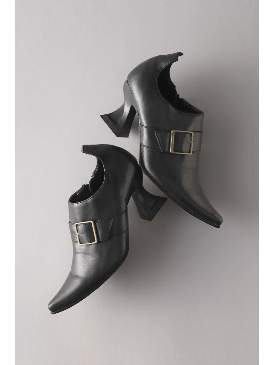 Girls Pointy Witch Shoes